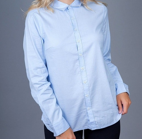 Как и с чем носить женскую рубашку правильно - 30 модных образов