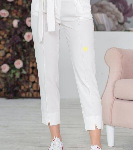 белые летние брюки