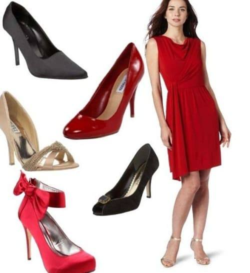 обувь разного цвета