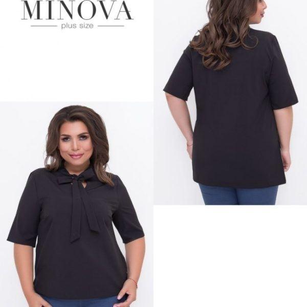 черная женская блузка