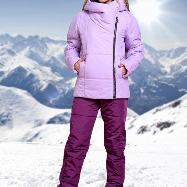 теплый лыжный костюм