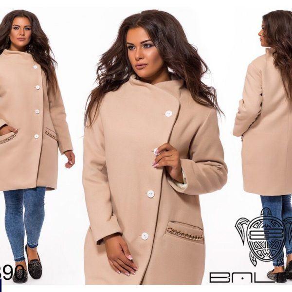 Пальто женское без капюшона
