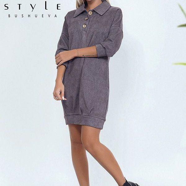 Свободное платье туника