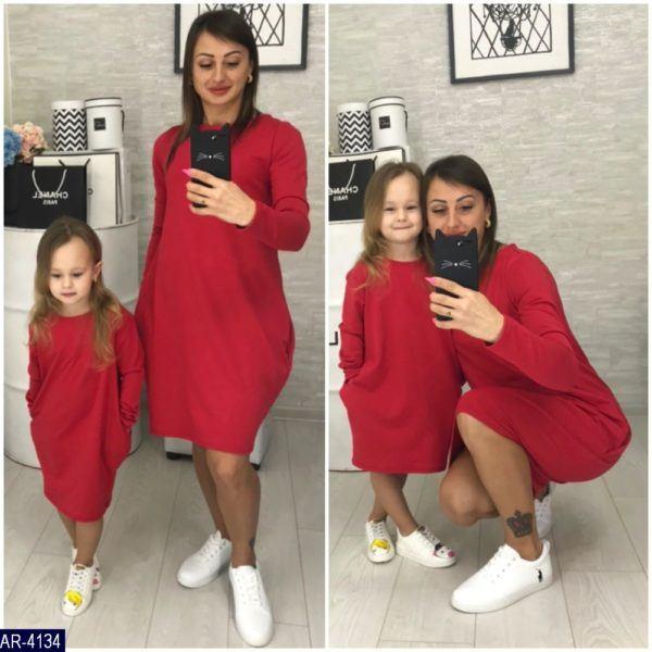 Платья для мамы и ребенка