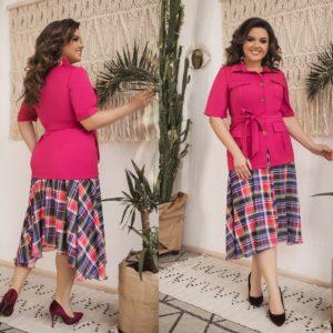 c5df3b40b5b Купить женские деловые костюмы больших размеров в интернет-магазине ...
