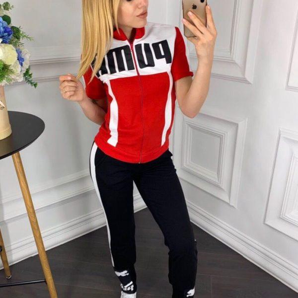 Спортивный костюм с принтом