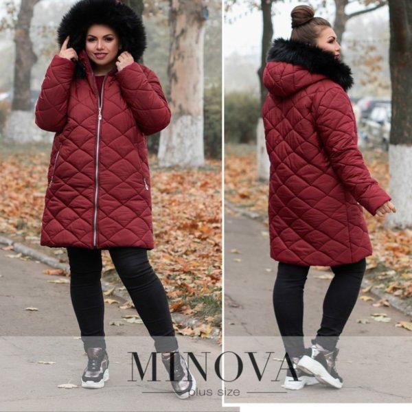 бордовая осенняя куртка