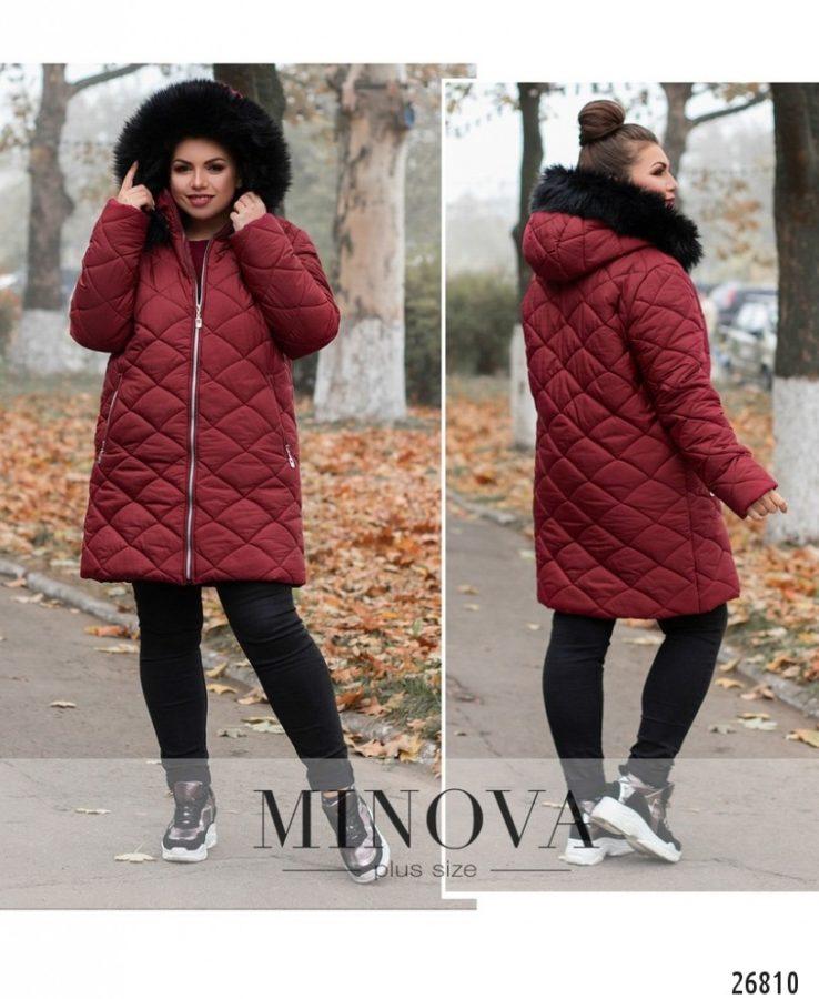 Куртка №715-бордо