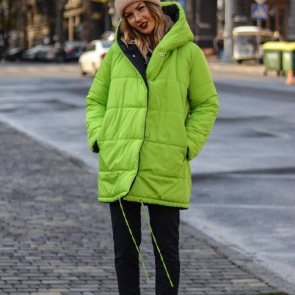 куртка салатового цвет